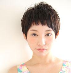 ベリーショート | 布施・河内花園・瓢箪山の美容室 MASHU アドベ店のヘアスタイル | Rasysa(らしさ)