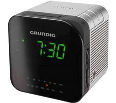 Radio reloj despertador Grundig
