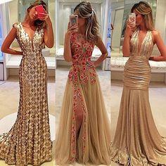 Lady in gold 💕 Qual preferido de vocês? 😊👗❤Dress @isabellanarchi#isabellanarchi #itgirlsbrazil #readytowear #atelierisabellanarchi #isabellanarchicouture #byisabellanarchi #dress #vestido #love #follow #linda #inspiração #photoshoot #fashionblogger #festa #formandas #madrinhas #sexta #fds #luxury #instaglam #night #boanoite ❤