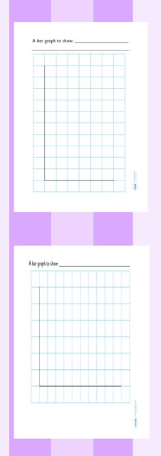 Blank Bar Graph Bar graphs, Worksheets and Math