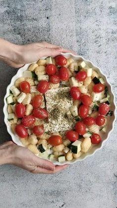 Vegetarian Recipes, Cooking Recipes, Healthy Recipes, Gnocchi, Food Inspiration, Love Food, Feta, Food To Make, Food Porn
