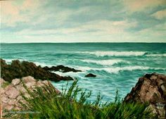 pinar una marina al óleo, taller online de pintura