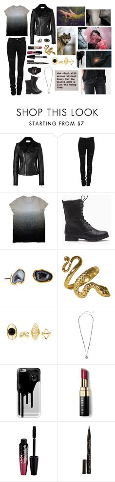 """""""Magic"""" by anna-fozo ❤ liked on Polyvore featuring Each Other, Yves Saint Laurent, Janna Conner, Chan Luu, Casetify, Bobbi Brown Cosmetics, Charlotte Russe, Smith & Cult and Casio"""