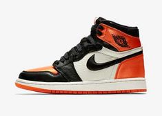 be82d688d Jordan 1 Satin Shattered Backboard Orange Black AV3725-010