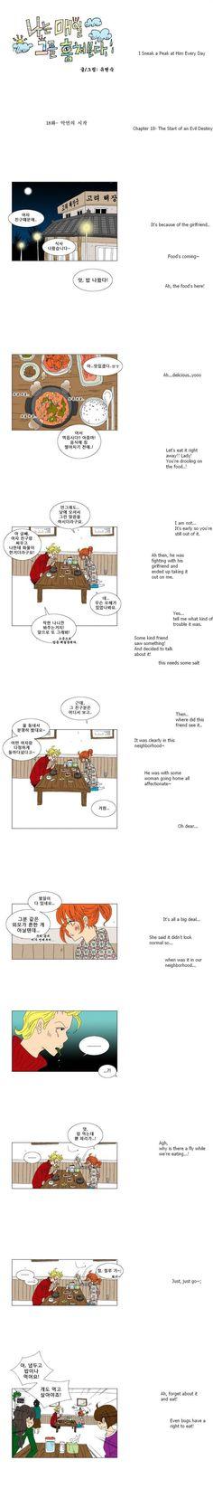 [Webtoon] I Sneak A Peak At Him Every Day 18 @ HanCinema :: The Korean Movie and Drama Database