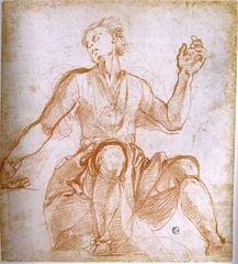 Pontormo, studio per un patriarca della cappella capponi, gabinetto uffizi n. 6613f r.jpg