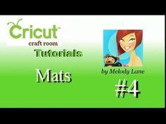 Cricut Craft Room Tutorial #4 Mats