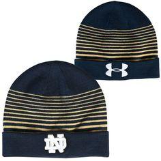 Notre Dame Fighting Irish Under Armour Switch It Up II Beanie - Navy Blue - $34.99