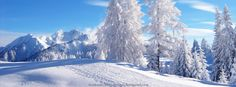 Facebook Covers Snow | Snow Covered Landscape | Facebook Timeline Cover Photos