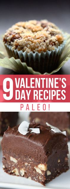 These 9 Valentine's Day Paleo Recipes are everything your Valentine's Day needs. They are decadent, sweet, satisfying, and healthily delicious!