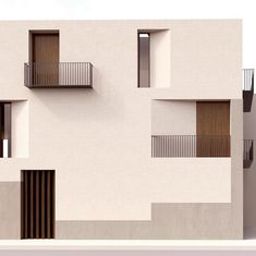 60 Super Ideas For Apartment Modern Facade Window Minimalist Architecture, Facade Architecture, Residential Architecture, Contemporary Architecture, Architecture Awards, Landscape Architecture, Facade Design, Exterior Design, Modern Windows