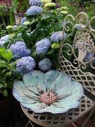 Image result for clay slab candles flowers