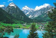 Lago Achensee en Tirol © Österreich Werbung/ Mallaun