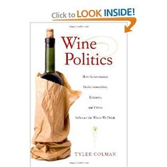 """I agree with this quote by one critic, """"after reading this intriquing book, a glass of wine will be more than hints of blackberries on the palate""""."""