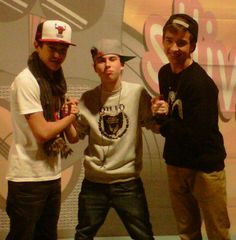 Dylan Holland, Peyton Sanders, and Austin Mahone <3