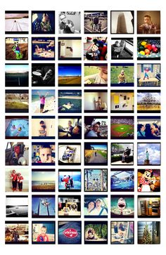 How to make a collage for only $6 with your Instagram pictures.