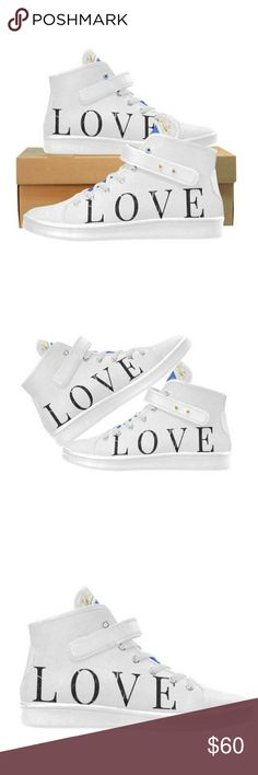 WHITE ASPEN BLU HIGH TOPS LOVE NEW LYRA WOMEN'S CL WHITE ASPEN BLU HIGH TOPS LOVE NEW LYRA WOMEN'S CLOTH SHOES • Made from Oxford cloth, unbelievably lightweight, elastic and anti-wrinkle. • Breathable foamed insole, anti-heat, anti-moisture, anti-corrosion. • Canvas lining, wearing soft and comfortable. • Lace-up closure and ankle strap for an adjustable fit. • Rubber out sole, tough enough to withstand daily wear and tear. & Other Stories Shoes Athletic Shoes