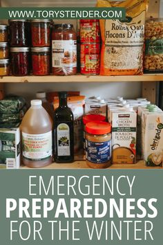Emergency Preparedness Food Storage, Prepper Food, Emergency Food Supply, Emergency Preparation, Emergency Supplies, Disaster Preparedness, Survival Prepping, Survival Skills, Camping Survival