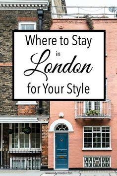Today I bring you a guide to finding the best area to stay in London based on your style. I hope it helps you find your perfect London neighborhood.