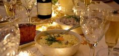 Jouluruoka, viinit ja jouluntaika