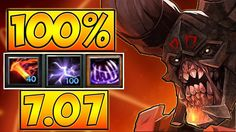 100% SPLASH 25 LEVEL DOOM 7.07 DOTA 2