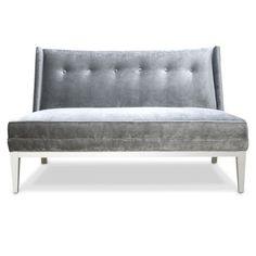 Sofa Slipcovers Jonathan Adler Morrow Settee in Sofas u Sectionals