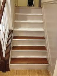 Image result for vinyl plank on stairs