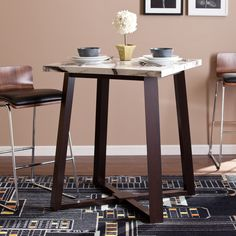 Upton Home Lewiston Counter Height Dining Table