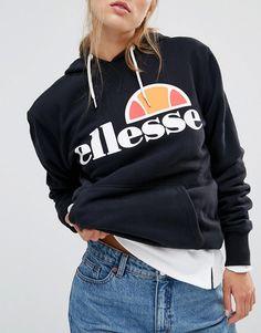 Image 3 - Ellesse Classic - Sweat à capuche oversize avec logo sur le devant