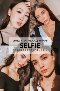 Selfie Preset Pack is giving images a stunning look in one click! Our presets are perfect for blogger, travel, lifestyle, outdoor, indoor, portrait, wedding, and selfie photos for your instagram feed. Improve your photos like a professional editor and get an amazing results! This preset pack has 5 (DNG) Mobile Lightroom Preset which is made by PresetsbyFaye. #lightroom #lightroompresets #presetsforlightroom #lightroommobile #instagramgoals #lightroomfilters #presetsbyfaye #selfie… Self Photography, Photography Filters, Outdoor Photography, Instagram Design, Instagram Ideas, Instagram Feed, What Is Lightroom, Lightroom Presets, Photo Editor App