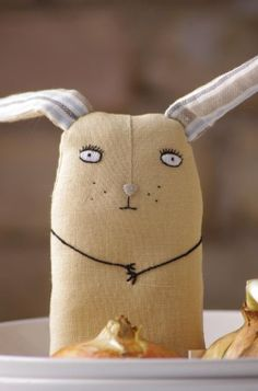 Serious bunny by adatine on Etsy #Easter