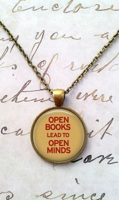 Open books, open minds...