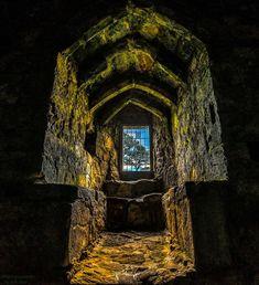 Dirleton Castle portal, Scotland