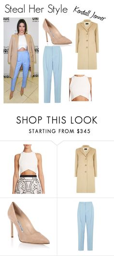 """""""Steal Her Style : Kendall Jenner"""" by style-74 on Polyvore featuring Nicholas, Harrods, Manolo Blahnik, Paul Smith, celebstyle, kendalljenner and polyvoreblogger"""