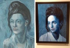 Amy Arbus, daughter of Diane Arbus, finds models who allow her to recreate Picasso masterpieces as photographs.