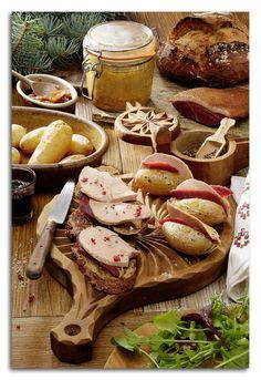 Le Foie Gras accompagne nos bons repas à la montagne : découvrez deux délicieuses recettes ! #foiegras #magret #recettes