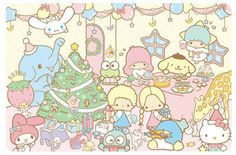 Food, Christmas, Party ★Little Twin Stars★