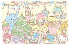Sanrio Christmas, Party