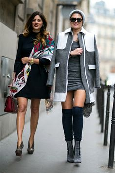 Street Fashion - Paris Haute Couture SS 2014 -Day 2 - Catwalk Yourself