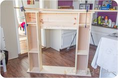 Diy Faux Fireplace - The Pursuit of Handyness