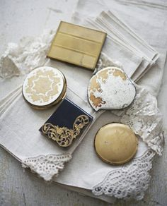 vintage compacts- another one of my collections