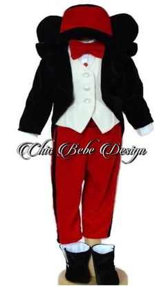 Christening Boy Outfit, Baptism, Mickey Mouse baptism Outfit, Blessing outfit, Wedding Boy Outfit, Baptism Boy Outfit, Baptism boy outfit Baptism Outfit, Boy Baptism, Christening, Mickey Mouse, Baby Boy Suit, Red Trousers, Red Bow Tie, Boys Suits, Boy First Birthday