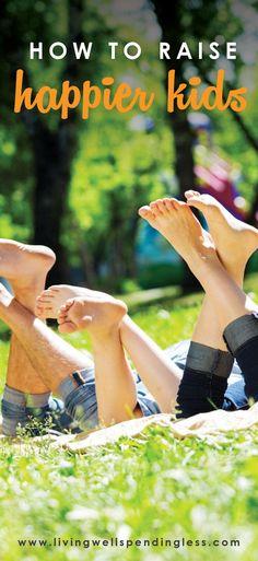 10 Things Kids Need to Be Happy | Motherhood | Parenting | Basic Safety | Food and Sleep | Genuine Success | Friendship | Happy Childhood via lwsl