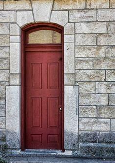 red door to nowhere