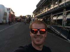 Back in the F1 paddock..