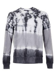 Charcoal Tie Dye Sweatshirt