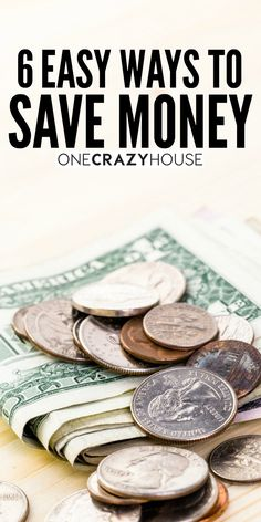 I'm sure you've figured out by now that it's fairly simple to spend money, but not as straight-forward to save it. With all the hacks that we've shared on One Crazy House, did you realize that some of them are very easy ways to save money? Okay, hacks aren't the only way to save but just one of six simple money saving concepts that we think you'll enjoy.