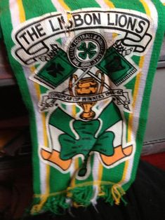 Big Dunc GB forum Lisbon Lions scarf Celtic Fc, Arizona Tea, Leprechaun, The Wiz, Drinking Tea, Lisbon, Glasgow, Irish, Soccer