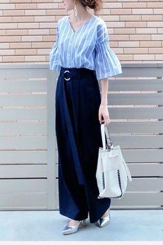 Japan Fashion, Love Fashion, Korean Fashion, Fashion Looks, Womens Fashion, Uniqlo Style, Long Skirt Fashion, Casual Outfits, Fashion Outfits