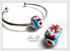 Pandora style polymer PC bead by Your Baby Chic, via Flickr